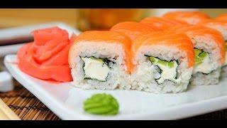 Ролл Филадельфия ♥ Простой рецепт суши в домашних условиях