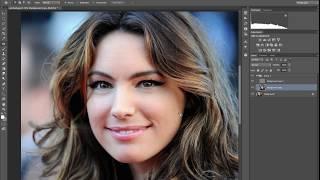 Урок №4 - частотное разложение для ретуши кругов под глазами в Adobe Photoshop (Александр Колбая)