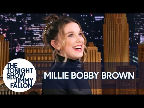 "Millie Bobby Brown Is ""Mother Of Tortoises"" And Imitates Jon Snow's Accent"
