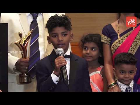 Australian Awards of Cinema and Television Arts Felicitated Sunny Pawar for 'LION' | YOYO TV Hindi