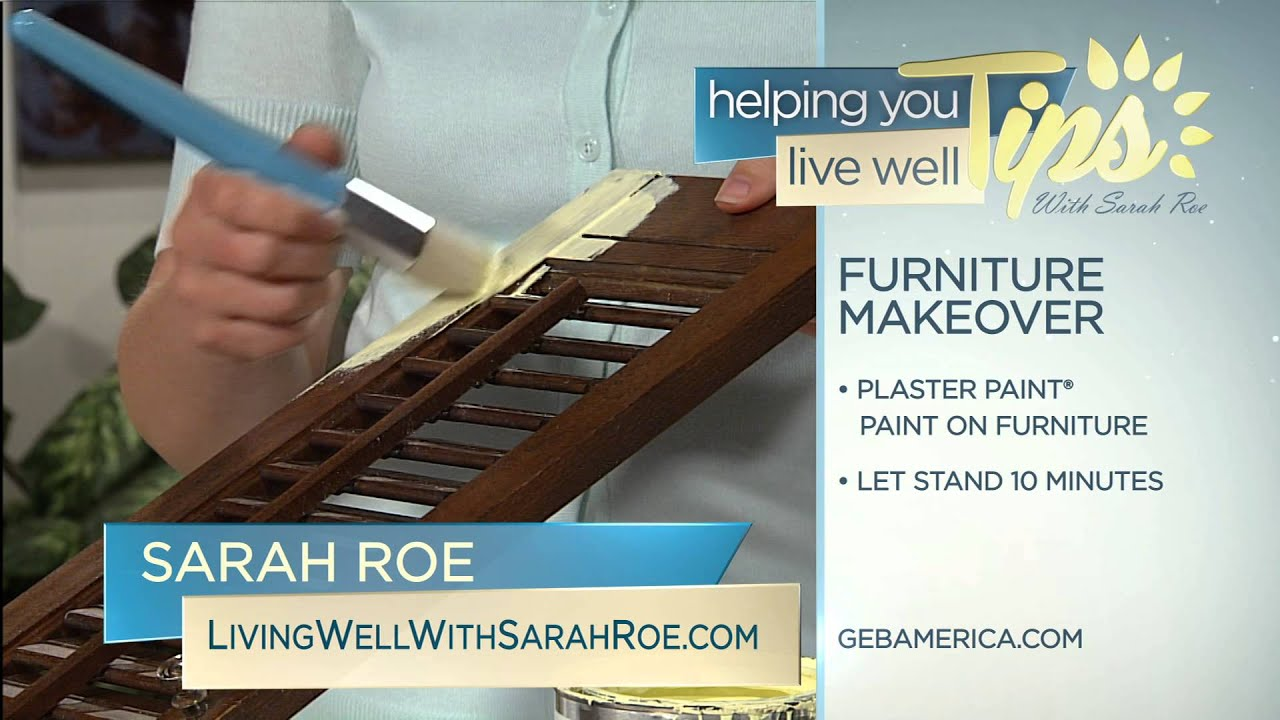 Living Well With Sarah Roe   Furniture Makeover   YouTube