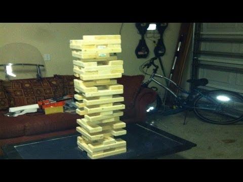How To Make Giant Game Of Jenga