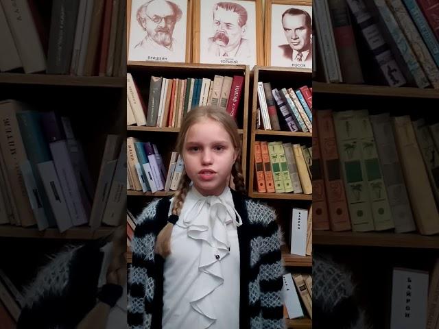 Изображение предпросмотра прочтения – МарианнаКулаго читает произведение «На лугу.» А.А.Блока