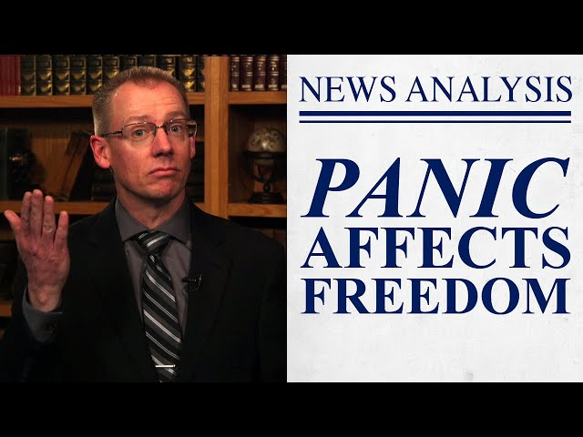 COVID-19 Panic Affects Freedom