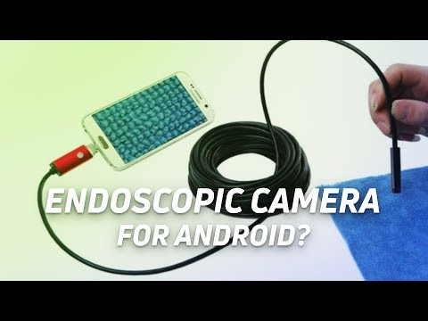 Endoscopic Camera for Android - On Screen Fingerprint Scanner - AR Going Mainstream?