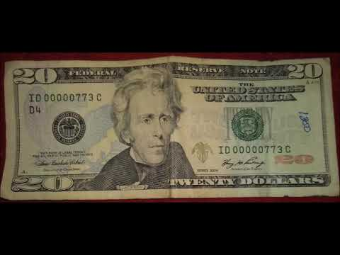Rare Finds! Misprint Error Bills, Insufficient Ink And Fancy Serial Numbers