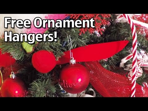 Christmas Ornament Hangers