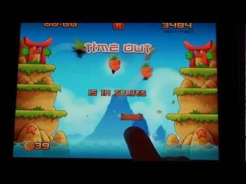Ninja Pong геймплей