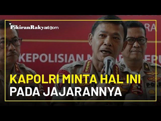 Posisinya Bakal Digantikan Komjen Listyo, Kapolri Minta Hal Ini pada Seluruh Polisi di Indonesia