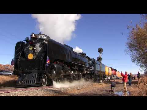 Union Pacific #844 Littleton, Castle Rock, Larkspur, Colorado Springs, Colorado