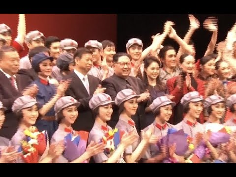DPRK Top Leader Watches Ballet Performed by Chinese Artists