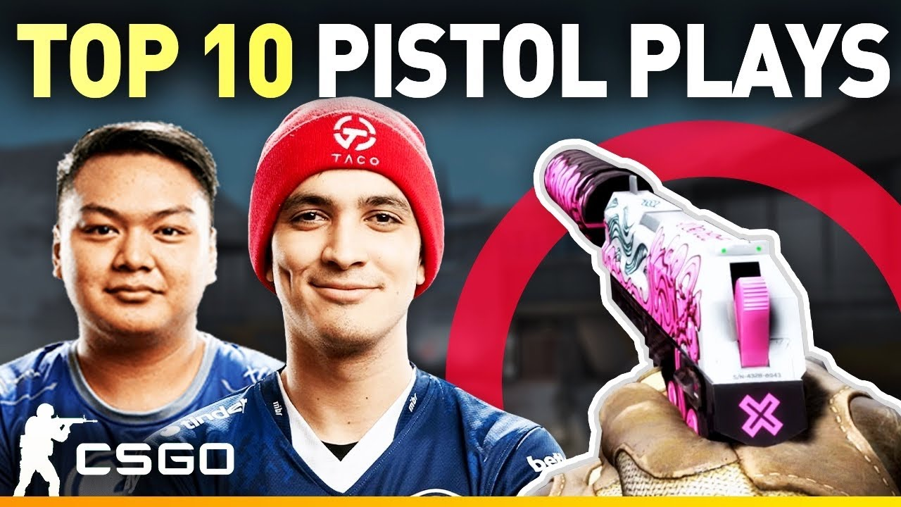 Top 10 CS:GO Pistol Clutches of 2019