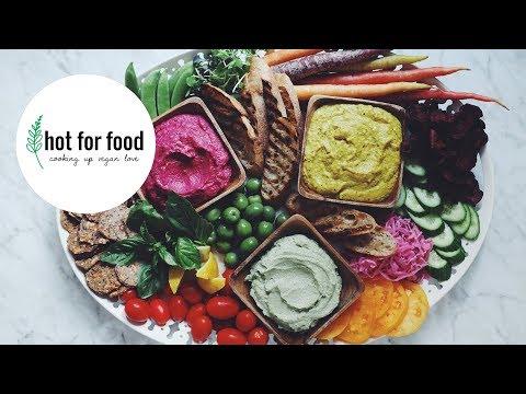 3 easy vegan dips   hot for food