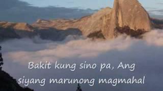 Bakit kung sino pa- Lloyd Umali w/ lyric...