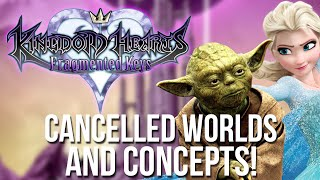 Kingdom Hearts: Fragmented Keys - Cancelled Worlds and Concepts