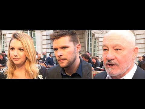 Detroit - Hannah Murray, Jack Reynor, Barry Aykroyd – European Premiere Interviews