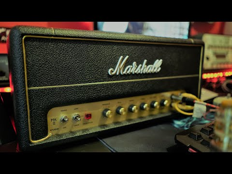Marshall Studio Vintage SV20 Chat & Review ( Audio Clips At The End)