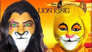 Disney The Lion King Scar and Simba | Makeup Halloween Costumes and Toys