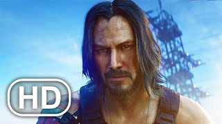CYBERPUNK 2077 All Cutscenes Full Movie (2020) Keanu Reeves HD