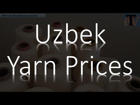 Uzbek Yarn Prices for Asian Ports