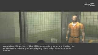 Splinter Cell Double Agent: Ellsworth Prison PS2 (Expert) HD