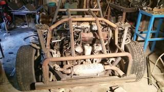 Делаю ТРАЙК с двигателем 3L V6 170 л.с.Часть 6.