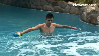 How to Use Water Exercise Equipment