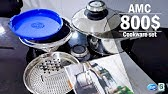 AMC Cookware Manufacturing Process - YouTube