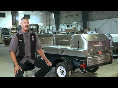 Crown Verity Commercial BBQ Grills -- Steve Adams