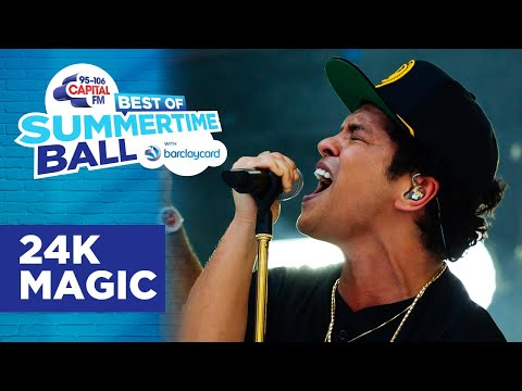 Bruno Mars - 24K Magic (Best of Capital's Summertime Ball) | Capital