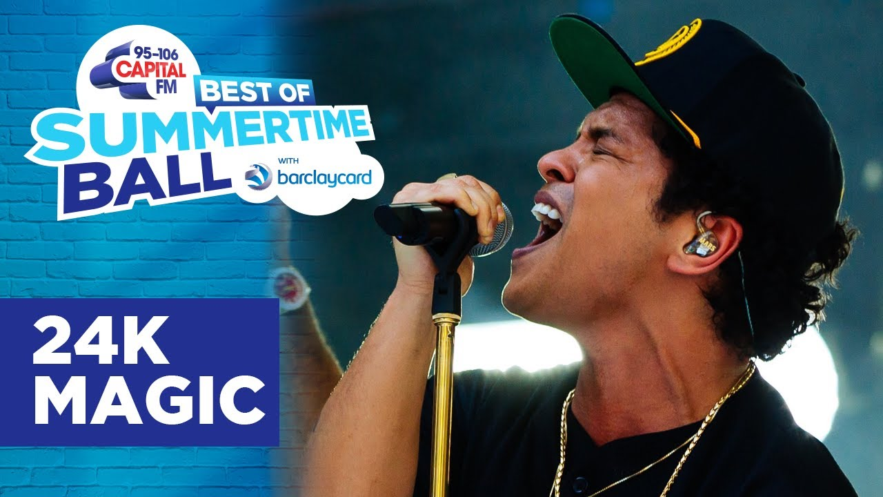 Bruno Mars - 24K Magic (Best of Capital's Summertime Ball) | Capital
