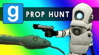 Gmod Prop Hunt Funny Moments - Little Hunter Edition! (Garry