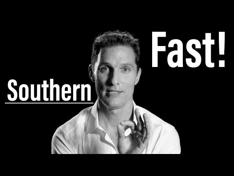 How To Do A Southern Accent FAST