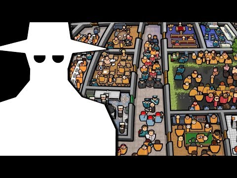 Lets Play An Amount Of Prison Architect! Part 2 - Interurptions & Phantom Cells