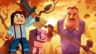 Minecraft: Story Mode vs Hello Neighbor
