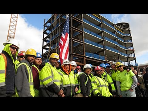 MGM Springfield topping off ceremony 3.29.2017