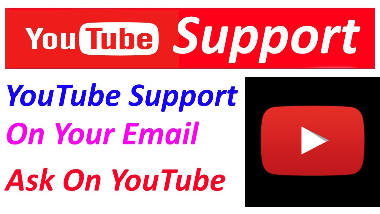How to Contact YouTube Support? | For any Problem - YouTube
