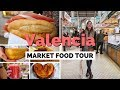 Download Spanish Food Tour at Central Market in Valencia, Spain