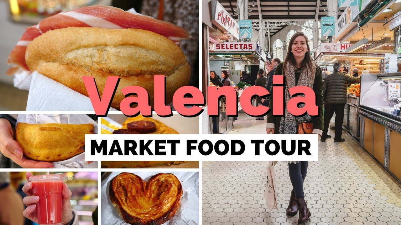 Spanish Food Tour at Central Market in Valencia, Spain