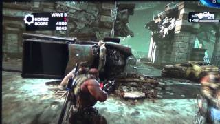 Gears of War 3 - Offscreen Gameplay - Play Day 2011 [HD]