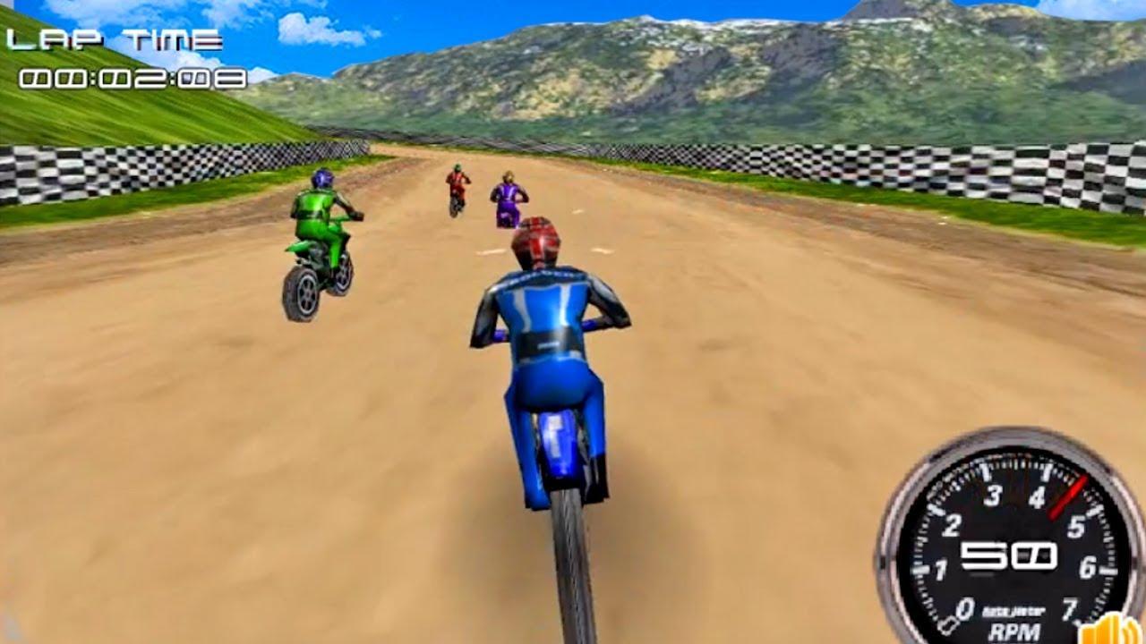 Conceder Monarca Propuesta  Juegos de Motos - Carrera de Motocross 3D- gameplay android - YouTube