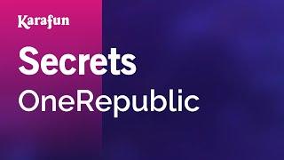 Karaoke Secrets - OneRepublic *