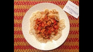 Мясная подлива с болгарским перцем: рецепт от Foodman.club