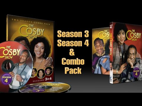 COSBY SHOW - Season 3, 4 & Combo Pack on DVD