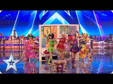Cartoon Heroes come to life on our stage! | Auditions | BGT 2018