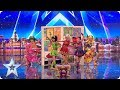 watch he video of Cartoon Heroes come to life on our stage! | Auditions | BGT 2018