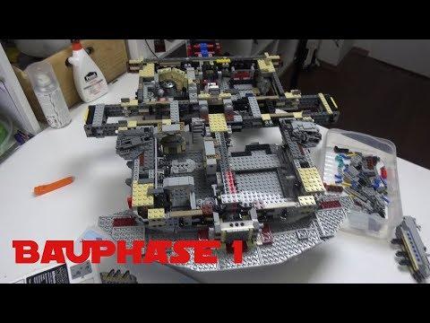 LEGO Star Wars - UCS Millennium Falcon (2017) # Bauphase 1 deutsch ...