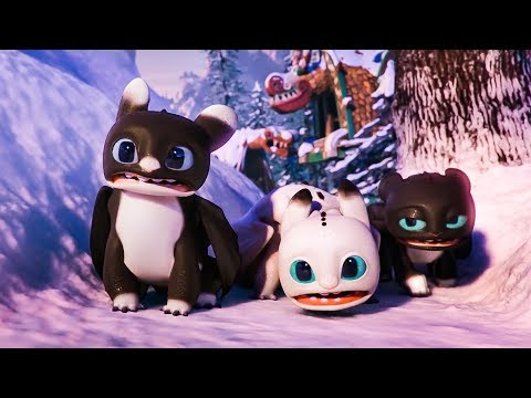 How To Train Your Dragon Homecoming 'Toothless & Kids Visit New Berk' Movie Clip (2019) HD