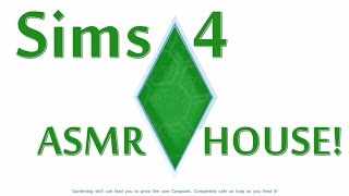 Lets ASMR - Sims 4 - #1 (Binaural Gum Chewing, Whispering, Keyboard Typing)