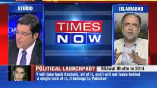 #ArnabVsPPP: Bilwal's man walks off The Newshour